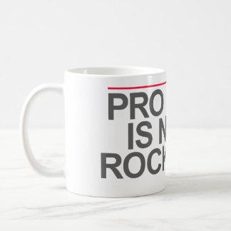 """PRO BONO IS NOT A ROCK STAR"" -- COFFEE MUG"