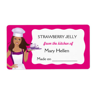 Pro Chef Baking Goods Customizable Food Label Shipping Label