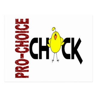 Pro-Choice Chick 1 Postcard