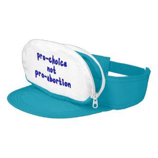 Pro-choice, not pro-abortion visor