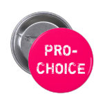 Pro-Choice Pinback Button