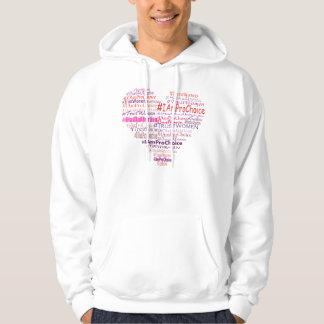 Pro Choice With Heart Sweatshirt