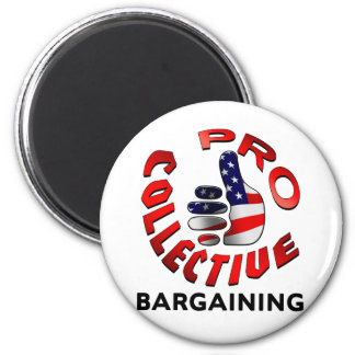 Pro Collective Bargaining 2 Inch Round Magnet
