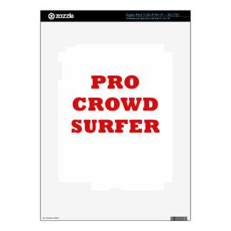 Pro Crowd Surfer iPad 3 Decal