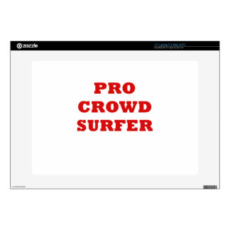 Pro Crowd Surfer Laptop Decal