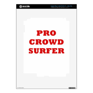 Pro Crowd Surfer Skins For iPad 3