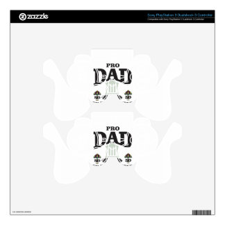 pro dad fairness in court PS3 controller decal