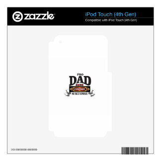 pro dad in custody courts iPod touch 4G skin