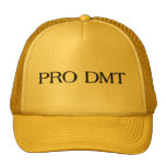 PRO DMT EXTREME YELLOW CAP HATS