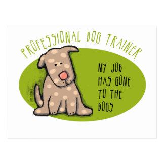 Pro Dog Trainer Postcard