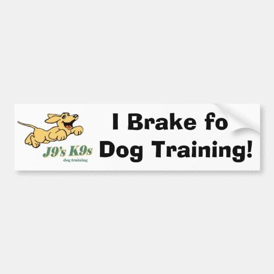 Pro Dog Training Bumper Sticker