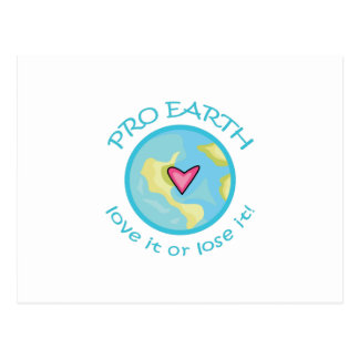 PRO EARTH POSTCARD