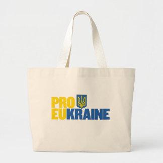 Pro EU Pro Ukraine Canvas Bag