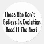 Pro-Evolution Classic Round Sticker