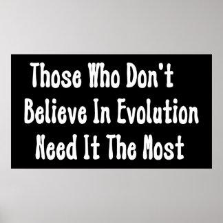 Pro-Evolution Poster