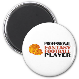 Pro Fantasy Football Player 2 Inch Round Magnet