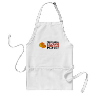 Pro Fantasy Football Player Adult Apron