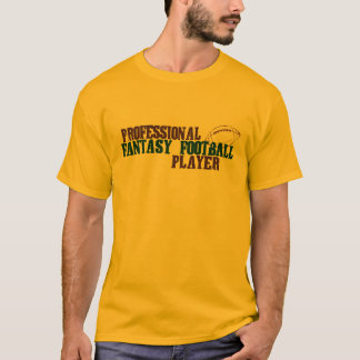 Pro Fantasy Football Player T-Shirt