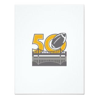 Pro Football Championship 50 Ball Bridge Card