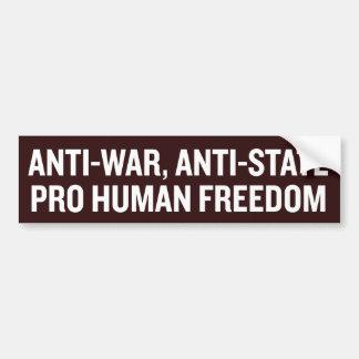 Pro Freedom Bumper Sticker