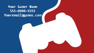 Video Game Business Cards Zazzle