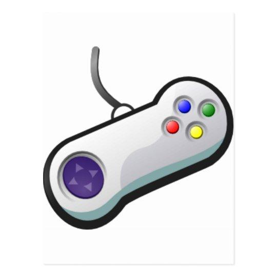 Pro Gamer, Video Game Controller Postcard