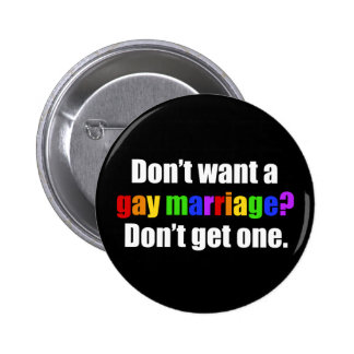Pro Gay Marriage 2 Inch Round Button