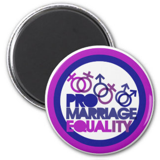 Pro gay marriage magnet
