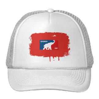 PRO GINGRICH 2012 TRUCKER HATS