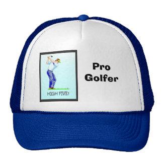 Pro Golfer with a great swing Trucker Hat
