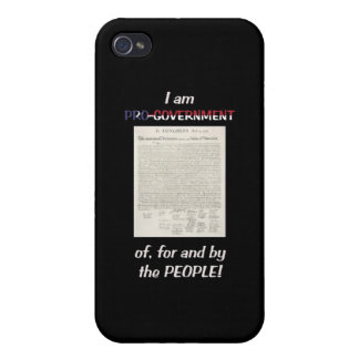 Pro-government Of For And By The People Covers For iPhone 4