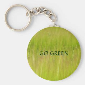 Pro green keychain