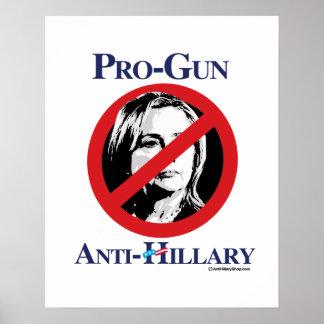 Pro-Gun Anti-Hillary - Anti Hillarypng.png Poster