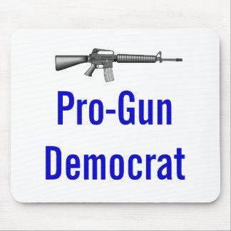 Pro-Gun Democrat Mouse Pad