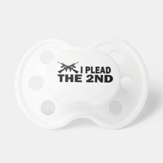 PRO GUN: I PLEAD THE 2nd BooginHead Pacifier
