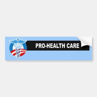 PRO-HEALTH CARE BUMPER STICKER