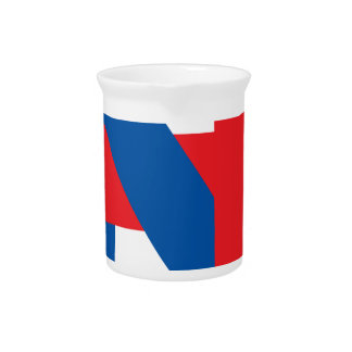 """Pro Hillary Clinton """"I'm with Nasty"""" Drink Pitcher"""