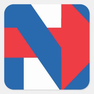 "Pro Hillary Clinton ""I'm with Nasty"" Square Sticker"