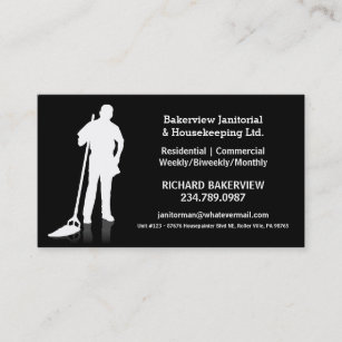 Housekeeping Business Cards Zazzle