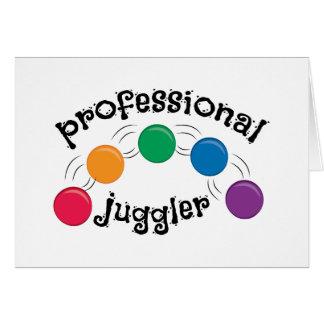 Pro Juggler Greeting Card