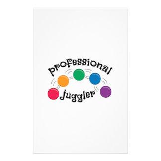 Pro Juggler Stationery Design