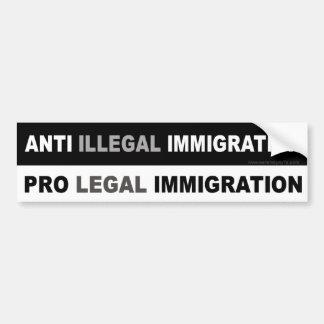 Pro LEGAL Immigration Bumper Sticker