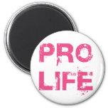 Pro Life 2 Inch Round Magnet