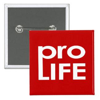 Pro Life 2 Inch Square Button