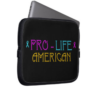Pro-Life American Computer Sleeve