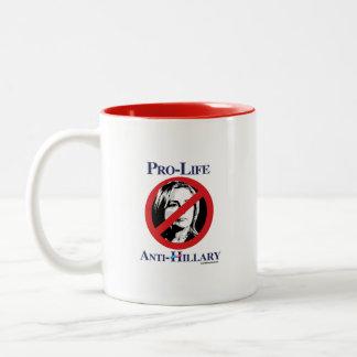 Pro-Life Anti-Hillary Mug