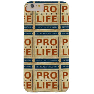 Pro Life Billboard Barely There iPhone 6 Plus Case