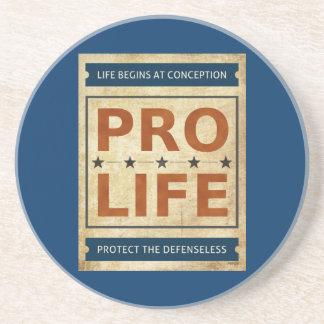 Pro Life Billboard Coaster