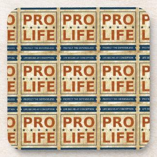 Pro Life Billboard Drink Coaster