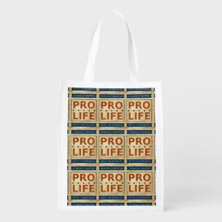 Pro Life Billboard Grocery Bag
